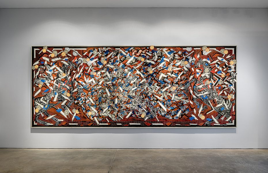 Andrew Schoultz Galerie Lj Paris